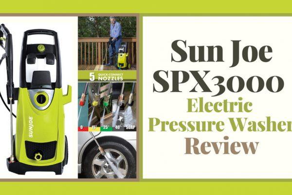 Sun Joe SPX3000 Review