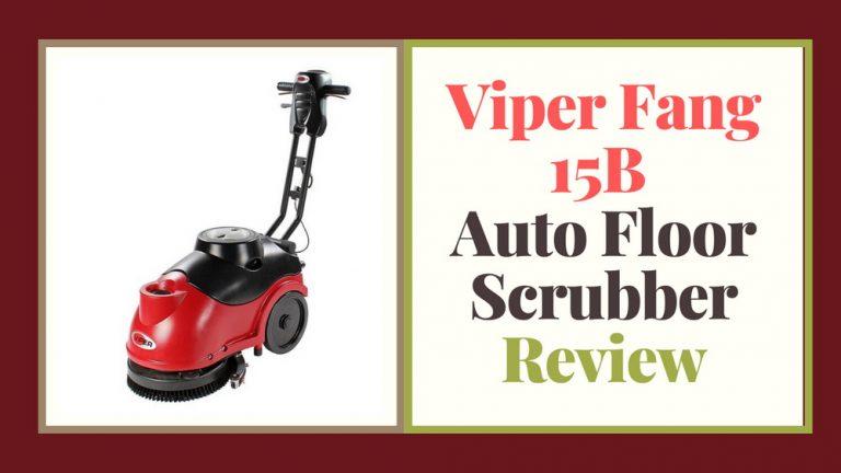 Viper Fang 15B Auto Floor Scrubber Review