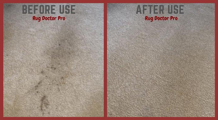 Rug Doctor Pro Deep Carpet Cleaner - performance