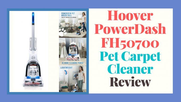 Hoover Powerdash Pet Carpet Cleaner Review